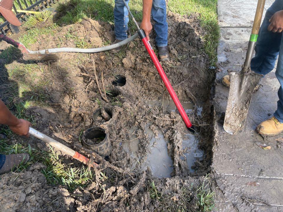 Katy, TX - Sprinkler repair