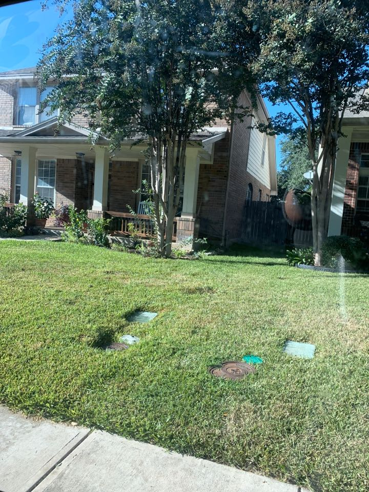 San Antonio, TX - Replacing sprinkler heads and system check up