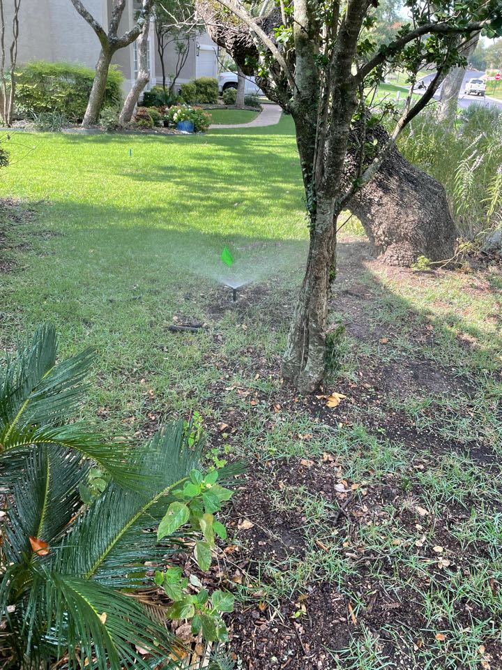 San Antonio, TX - Replacing sprinkler heads and adjustments throughout the system