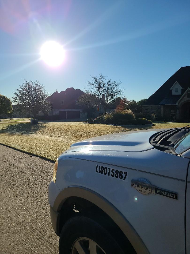 Prosper, TX - Sprinkler system check,  Replaced broken sprinkler heads.