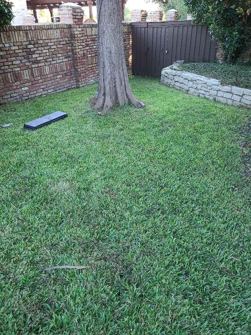 Irving, TX - Sprinkler system repairs,  Locate cut wire.