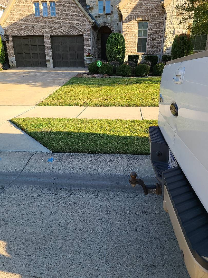 Irving, TX - Sprinkler system repairs,  Fix broken pvc pipe and a drip line.