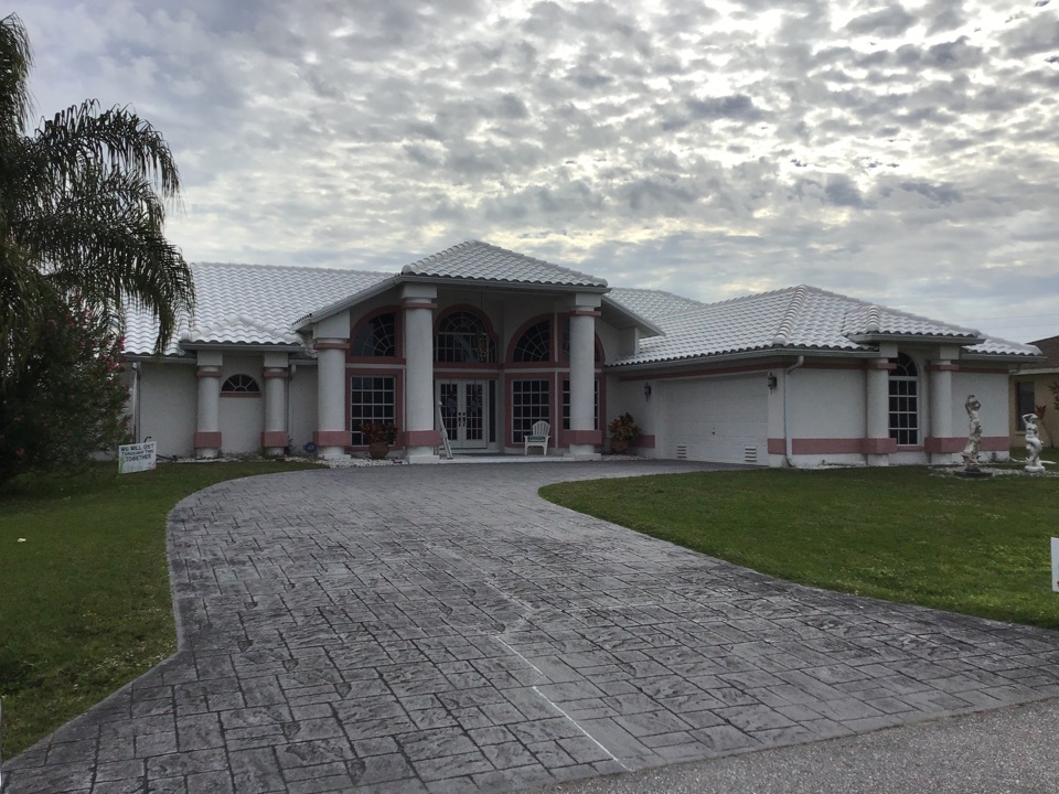 Port Charlotte, FL - Roof completed.