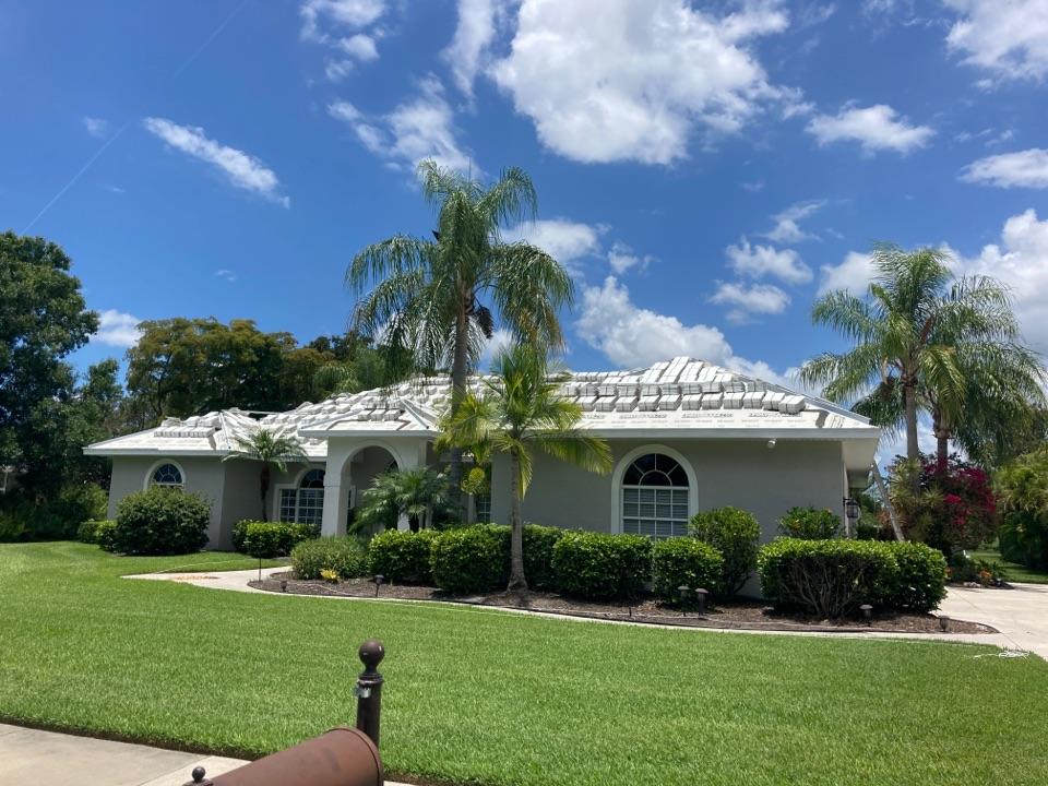 Sarasota, FL - Tile Roof installation Inprogress