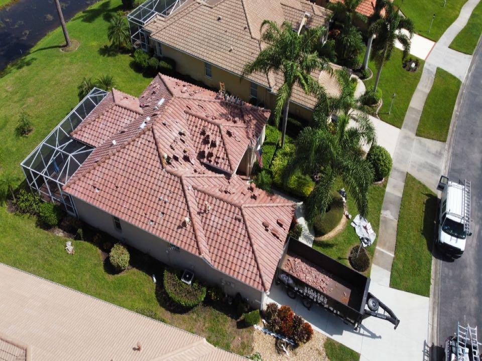 North Port, FL - Tile Roof In progress