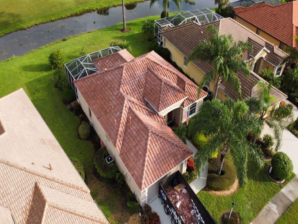North Port, FL - Finished Tile Roof