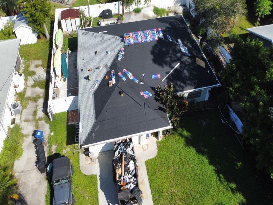 Venice, FL - Roof Inprogress waiting on County Inspection.