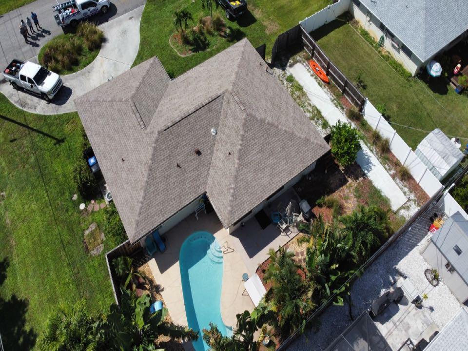 Venice, FL - Finished shingle roof.