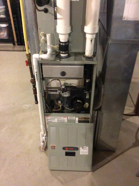 """Lebanon, OH - I provided an estimate for customer to have a Five Star 96% Variable-Speed Two-Stage Gas Furnace and a Five Star """"Infinity Series"""" 19 SEER Variable-Speed 3 Ton Air Conditioner installed, along with an Aprilaire High Efficiency 4"""" Air Cleaner."""
