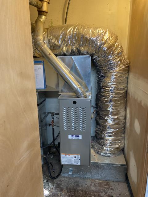 """Dayton, OH - I installed a Five Star 80% 70,000 BTU Gas Furnace 3T 14"""". With this install comes a scheduled maintenance agreement lasting a year."""