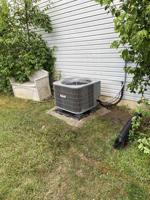 Springboro, OH - I went to the customer's home to install a Five Star 13 SEER 3 Ton Air Conditioner.  The system was fully operational upon departure.