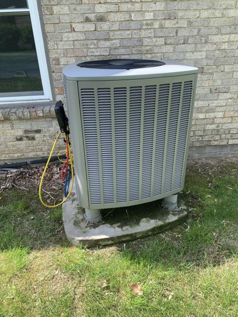 Dayton, OH - I performed a tune up and safety check on a Lennox heat pump.  I found that the return air filter was dirty so I changed it.  No other issues were found and the system was operating according to manufacturer's specifications upon my departure.