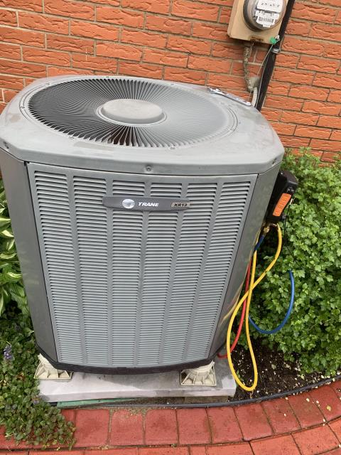 Centerville, OH - I performed a tune up on a Trane A/C unit. Everything checked out within specs. System is operational upon departure.
