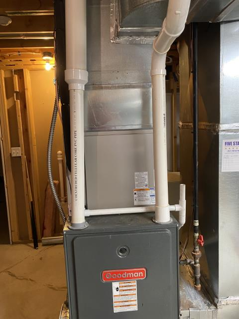 Miamisburg, OH - I completed a diagnostic on a Goodman Gas furnace. Determined that the filter was dirty and needed to be replaced.
