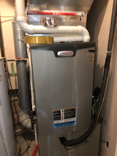 Dayton, OH - I completed a job continuation to install the furnace box for a Lennox Gas furnace. Systems working properly upon departure.