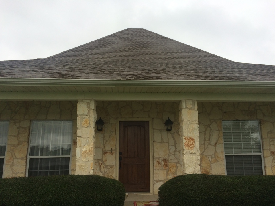 Fort Worth, TX - Starting a new roof install due to hail storm.