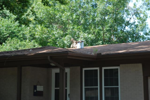 Benbrook, TX - Redone roof due to weather damage.
