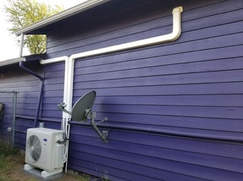 Portland, OR - Installation of Carrier ductless/ducted heat pump system