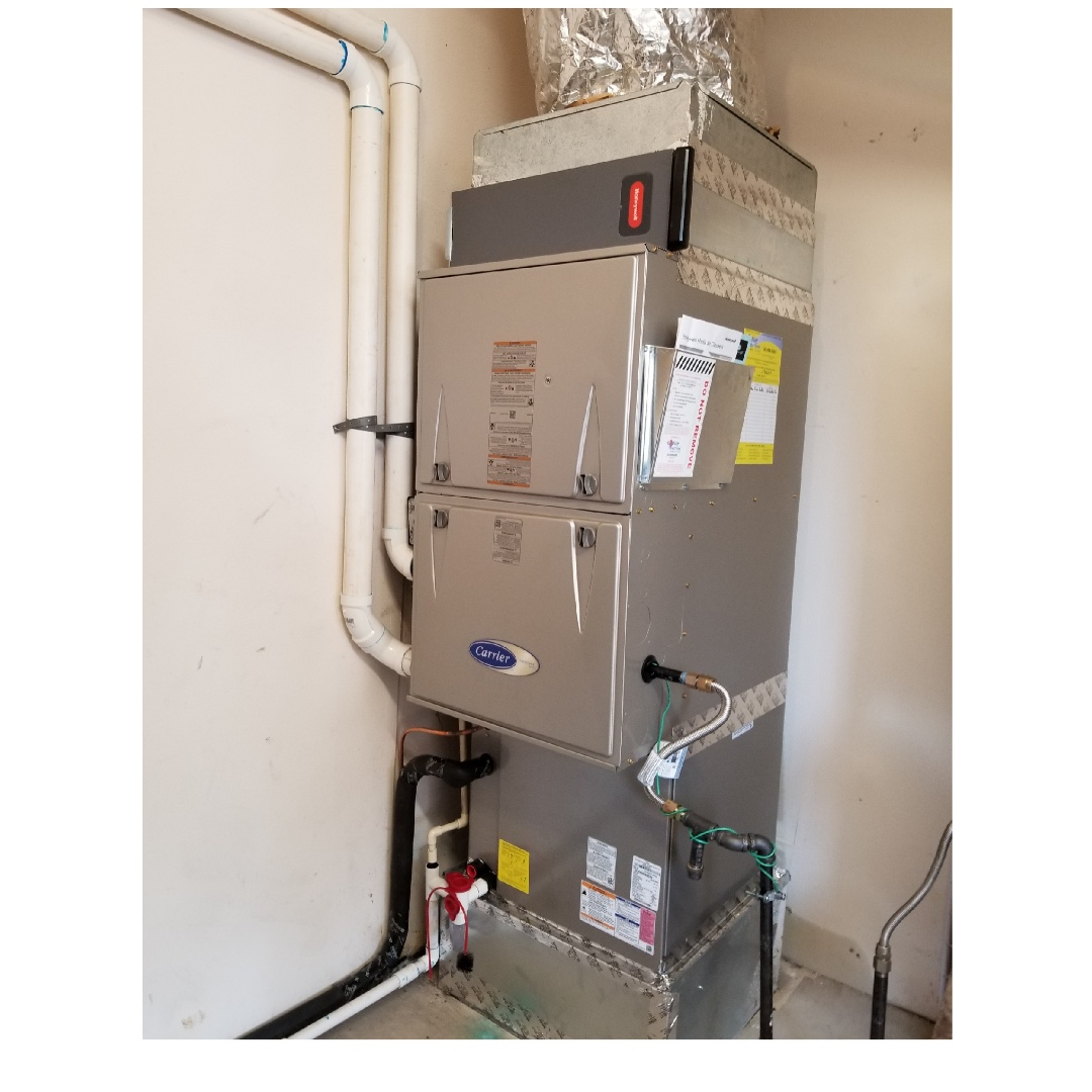 Tigard, OR - Carrier Furnace and air conditioner install in Tigard
