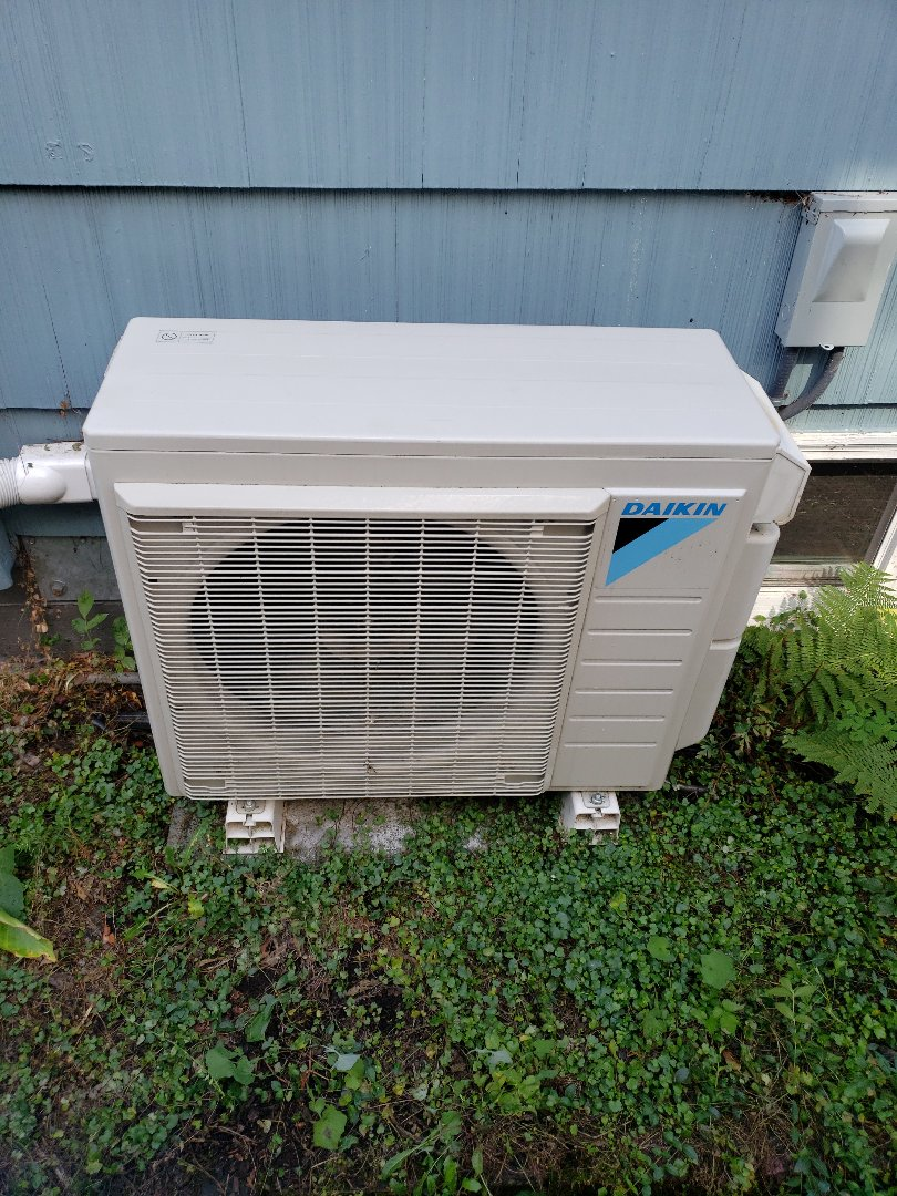 Portland, OR - A clean Daikin after a maintenance.