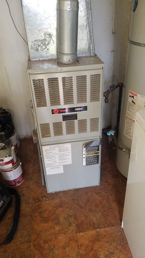 Portland, OR - Trane furnace check up
