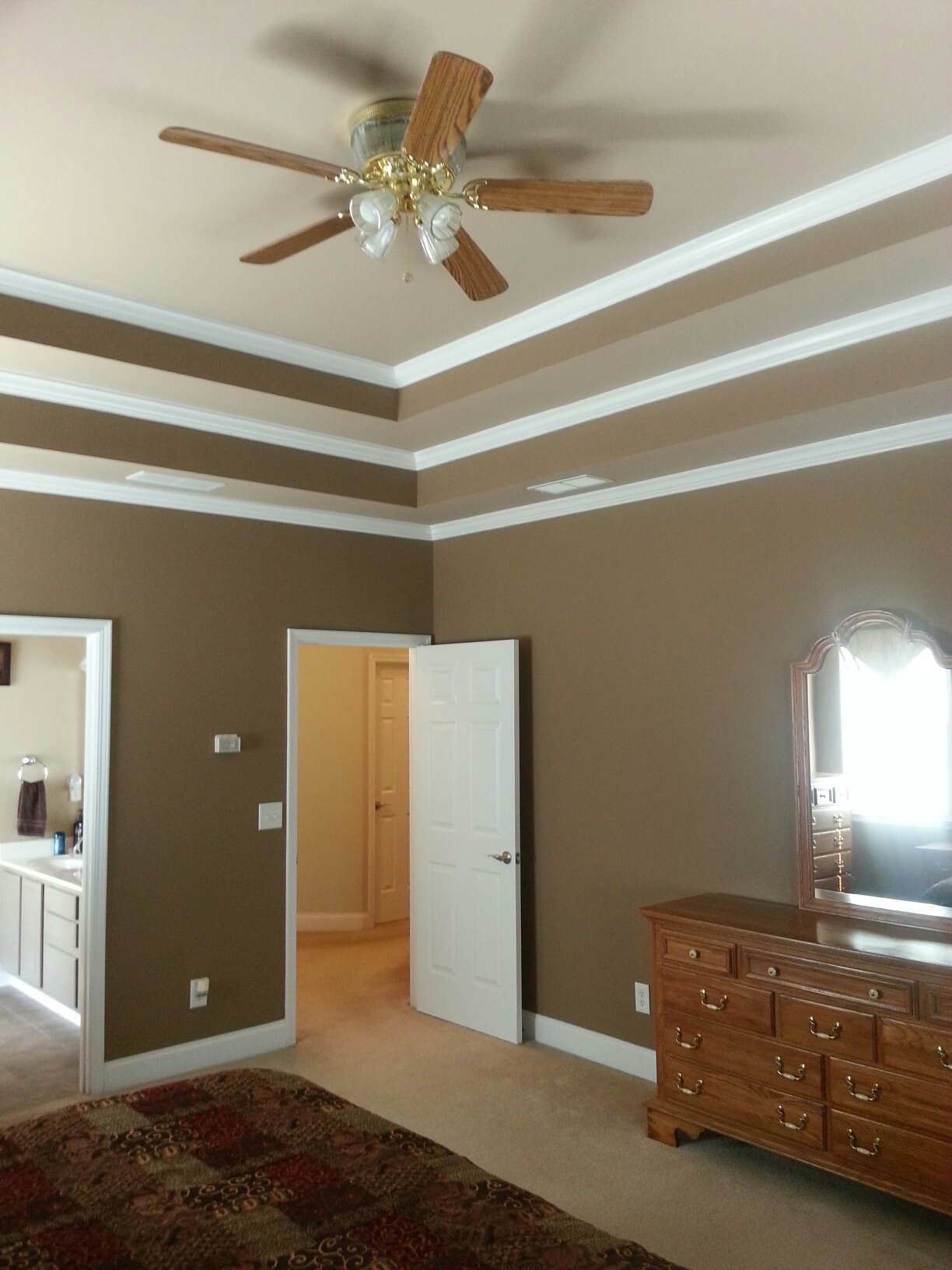 Flowery Branch, GA - Interior painting. Sherwin-Williams Super Paint.