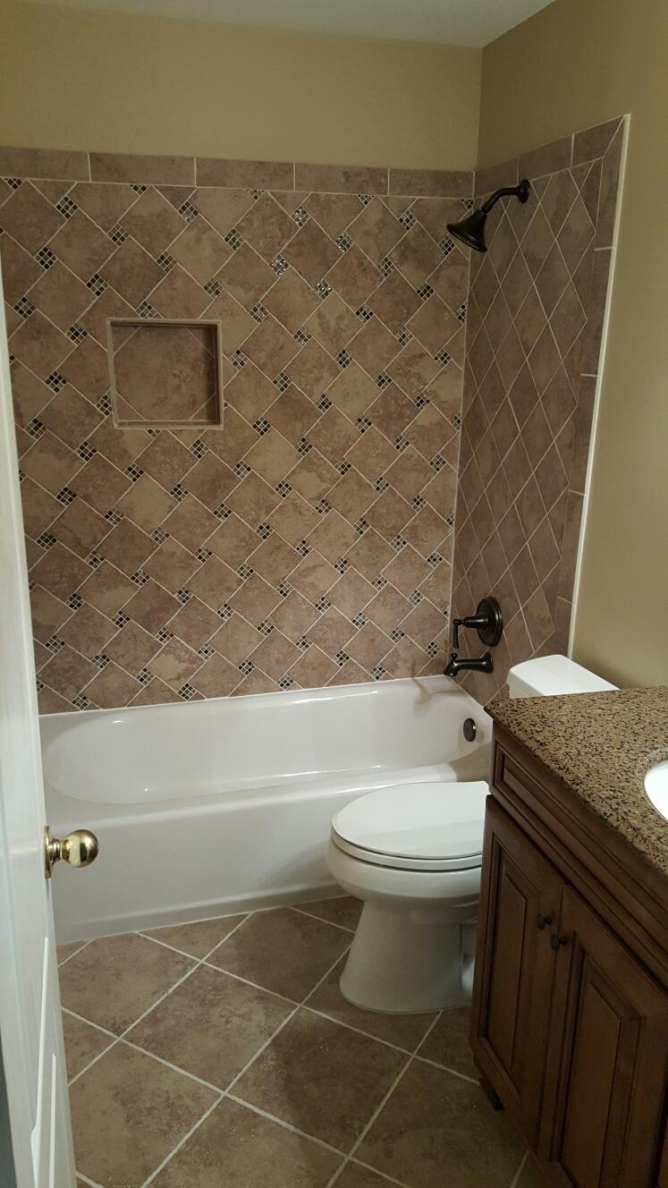Duluth, GA - Whole house remodel: full bath, master bath, kitchen, engineered wood floors, carpet, painting.