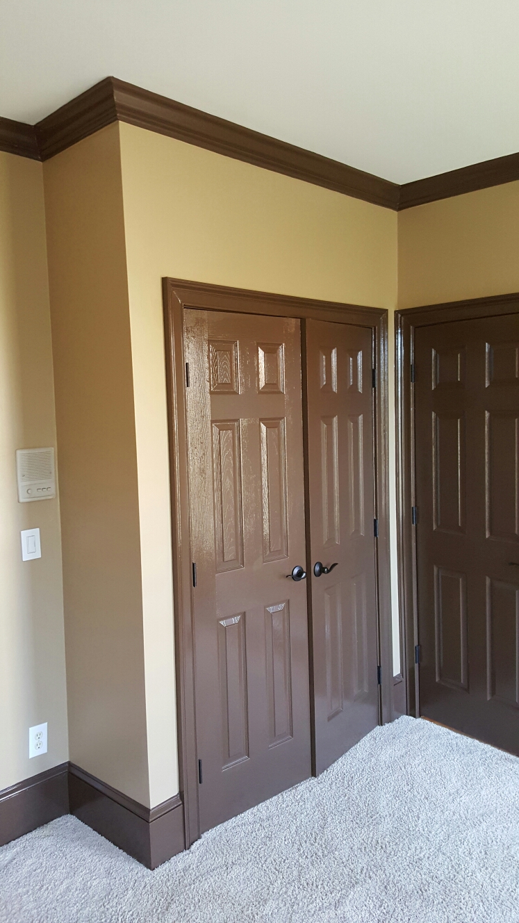 Duluth, GA - New closet and painting for bedroom.