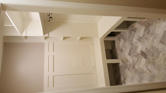 Alpharetta, GA - Built mudroom in old laundry room space.