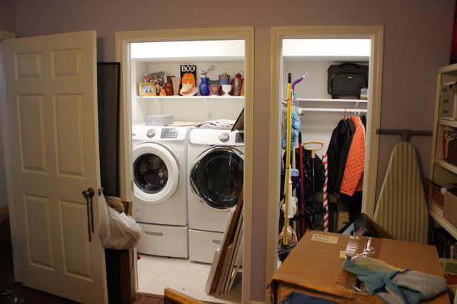 Lawrenceville, GA - Built new laundry room and closet. Remodeled kitchen. Painted interior of house.