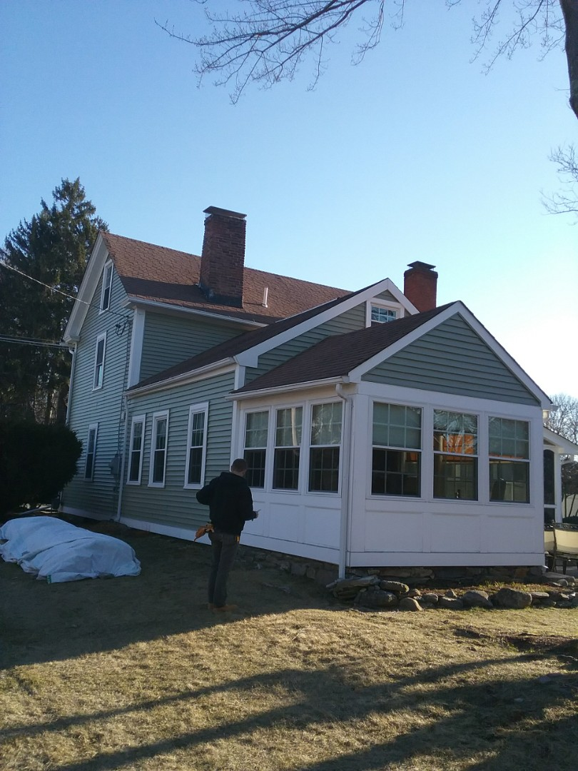 Shrewsbury, MA - In Shrewsbury and just completed a vinyl siding project