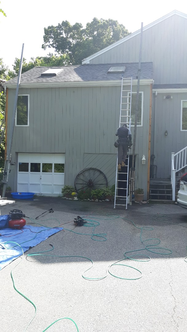Andover, MA - Install of new hardie and pvc trim