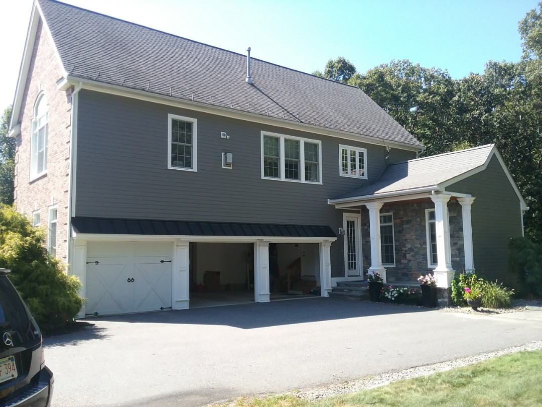 Shrewsbury, MA - Another beautiful James Hardie siding project in Northboro