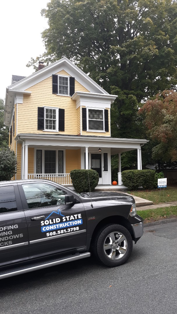 Winchester, MA - Completed GaF roof system on this home adding a great new look