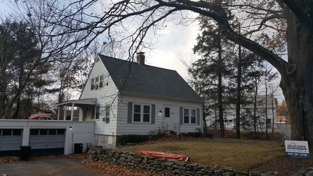Lunenburg, MA - We just installed a new #GAF #AsphaltRoof Shingles in this home in Lunenburg, MA.   #SolidStateConstructionMA  #GAF #MasterElite Contractor