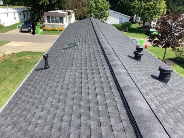 Novi, MI - A brand new roof was installed on Marla's home. Bringing peace of mind and style to every homeowner we work with.