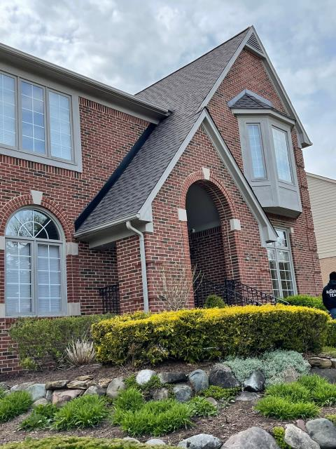 Novi, MI - Great looking roof replacement we did out in Novi!