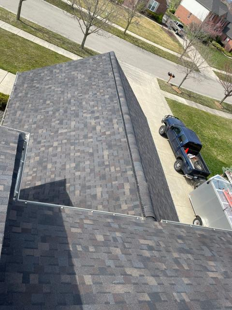 Canton, MI - Another great roof is done! #exceptionalroofingmadeeasy