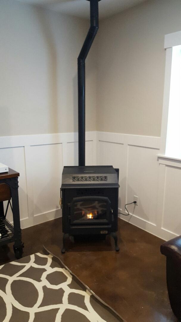 Beaver, UT - New St Croix pellet stove in Beaver Utah