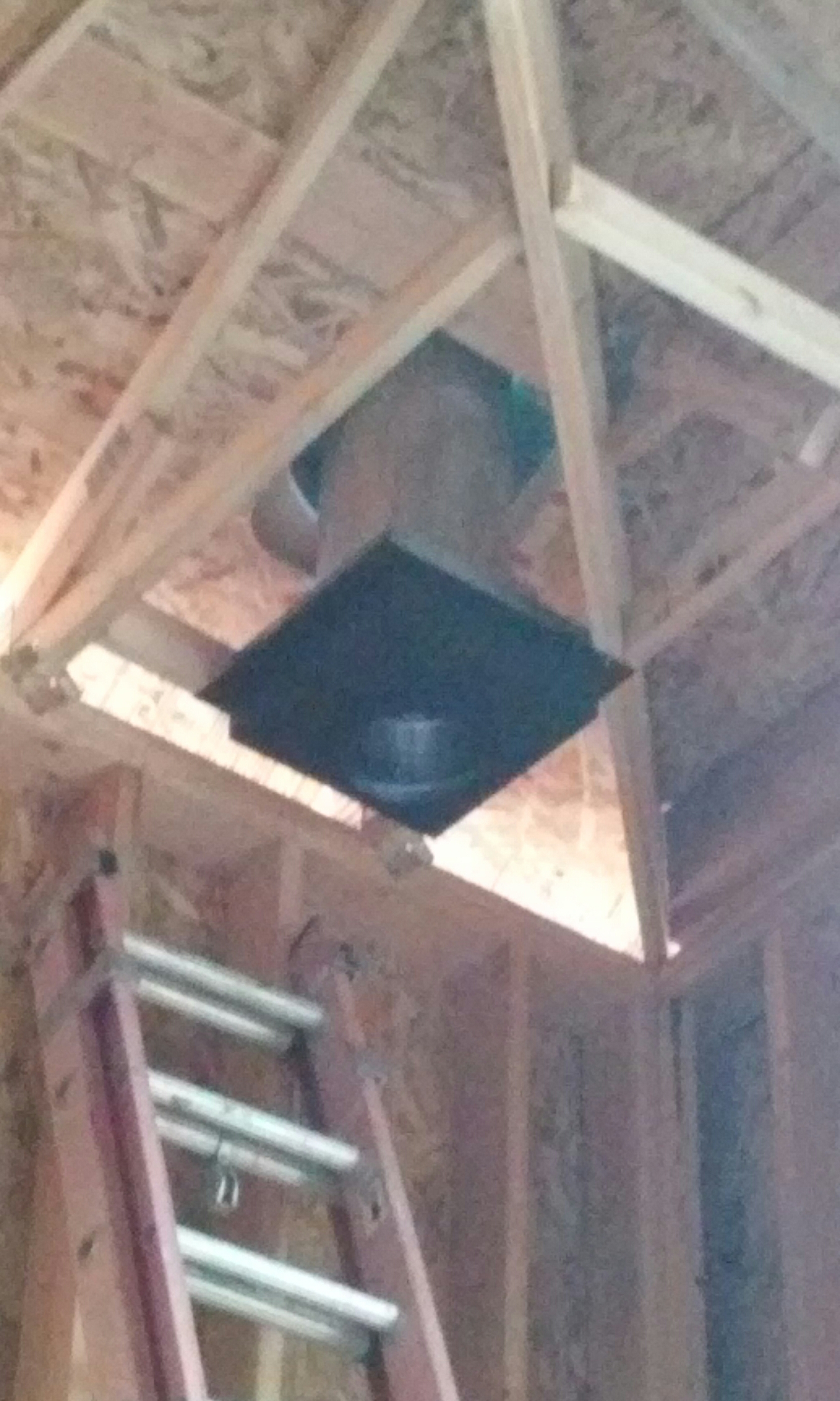 Greenville, UT - Fireplace flue in new home in Greenville.  Beaver county