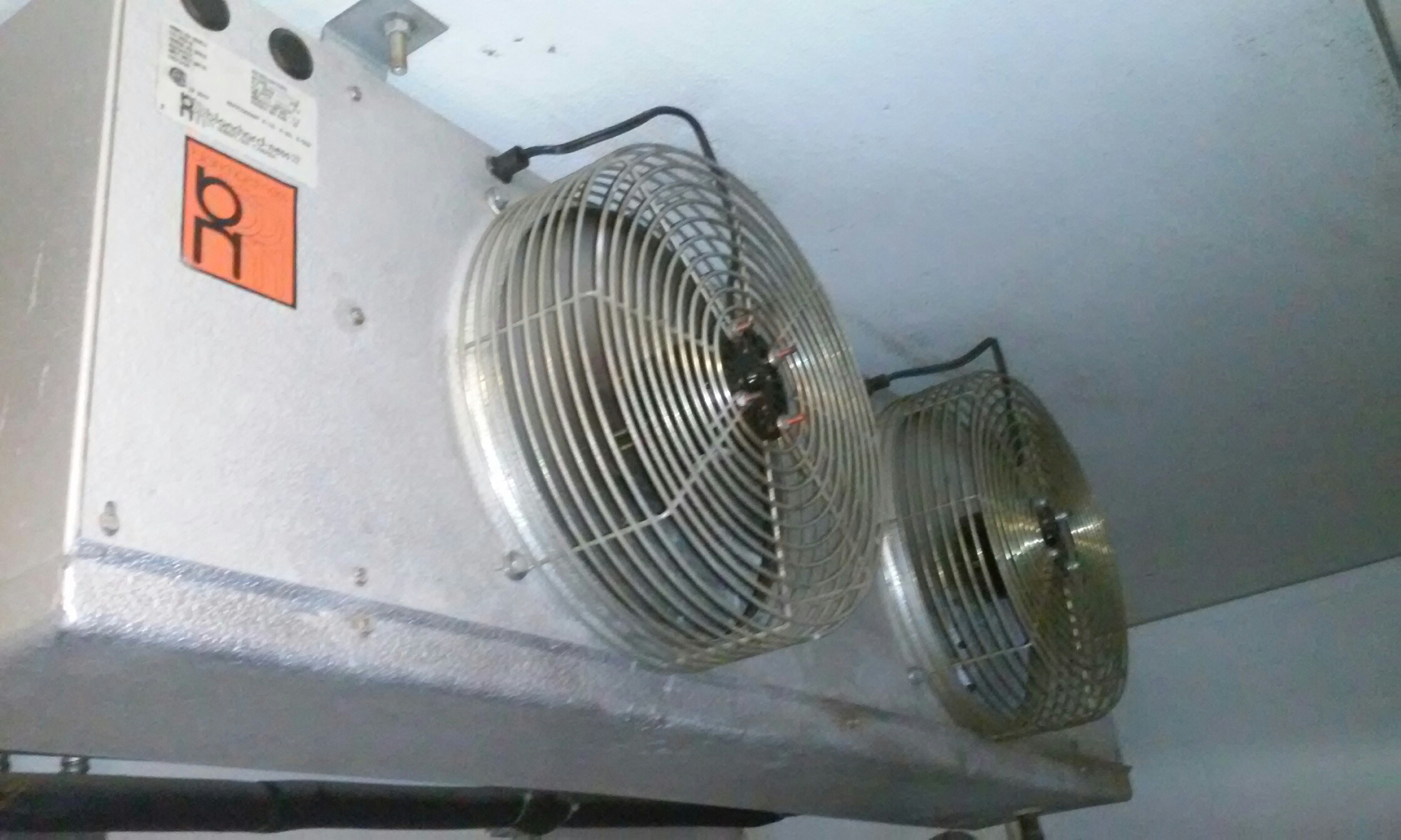Minersville, UT - Walk in cooler fan replacement