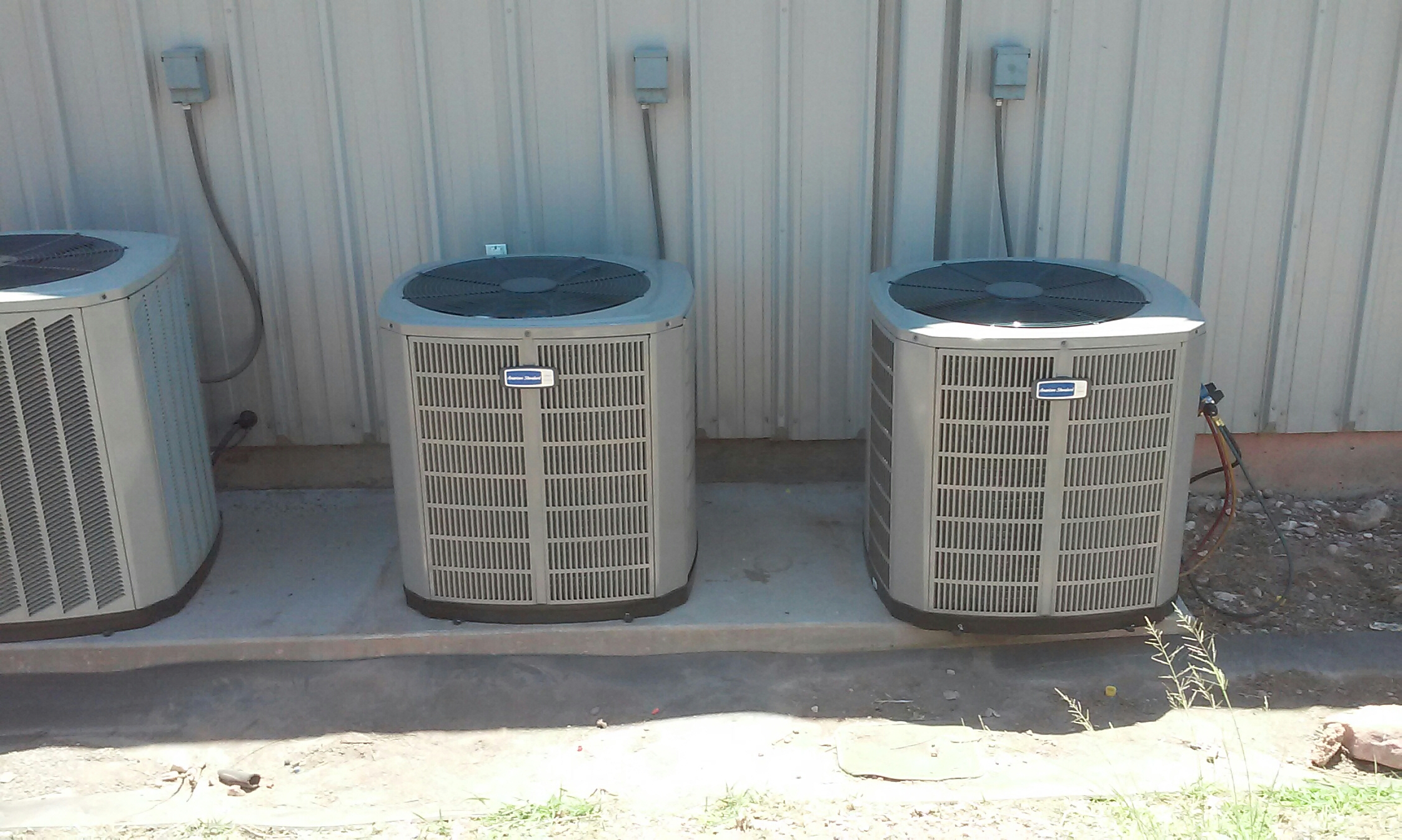 Richfield, UT - 2 new complete new American Standard  furnace and ac systems in Richfield Utah
