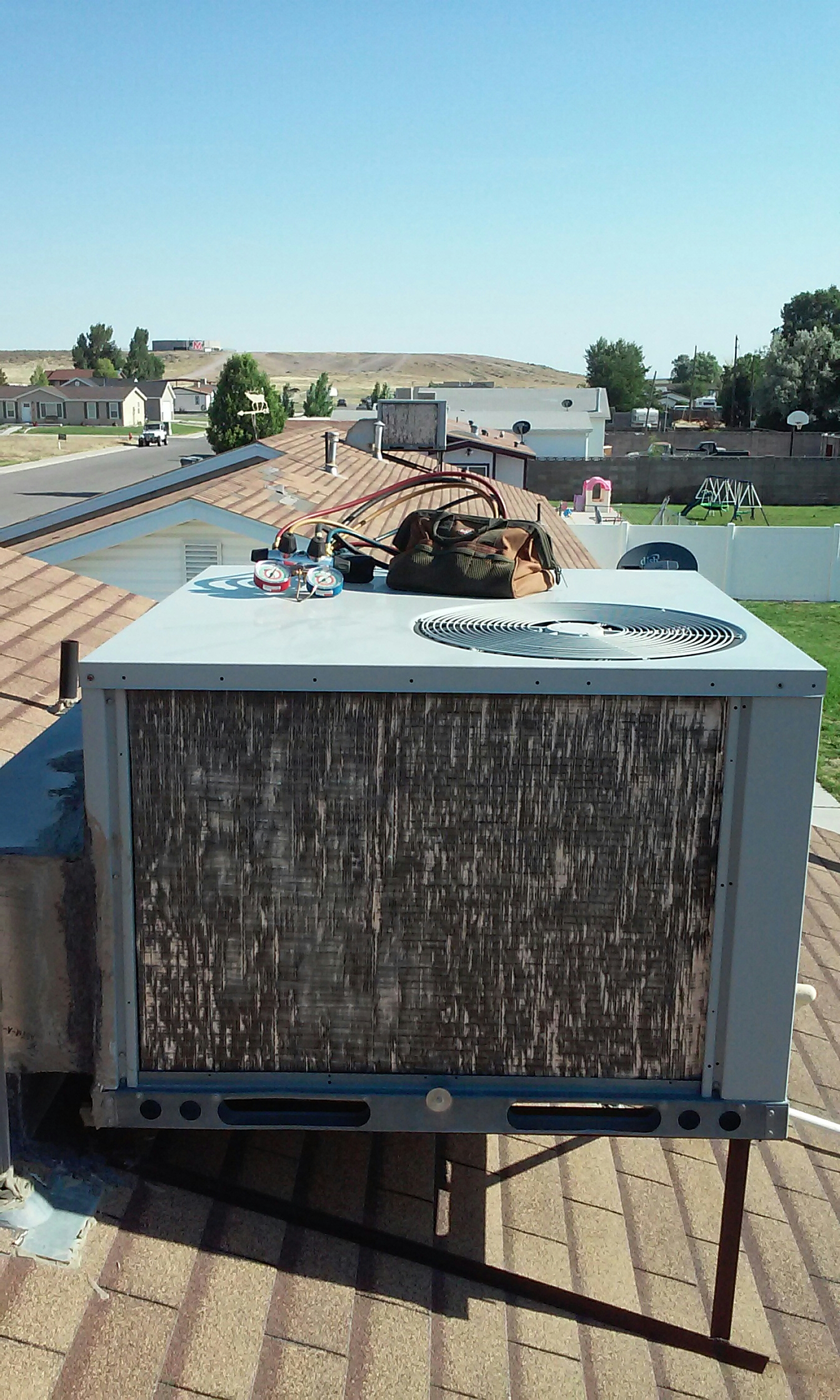 Milford, UT - Rooftop unit repair in Milford Utah