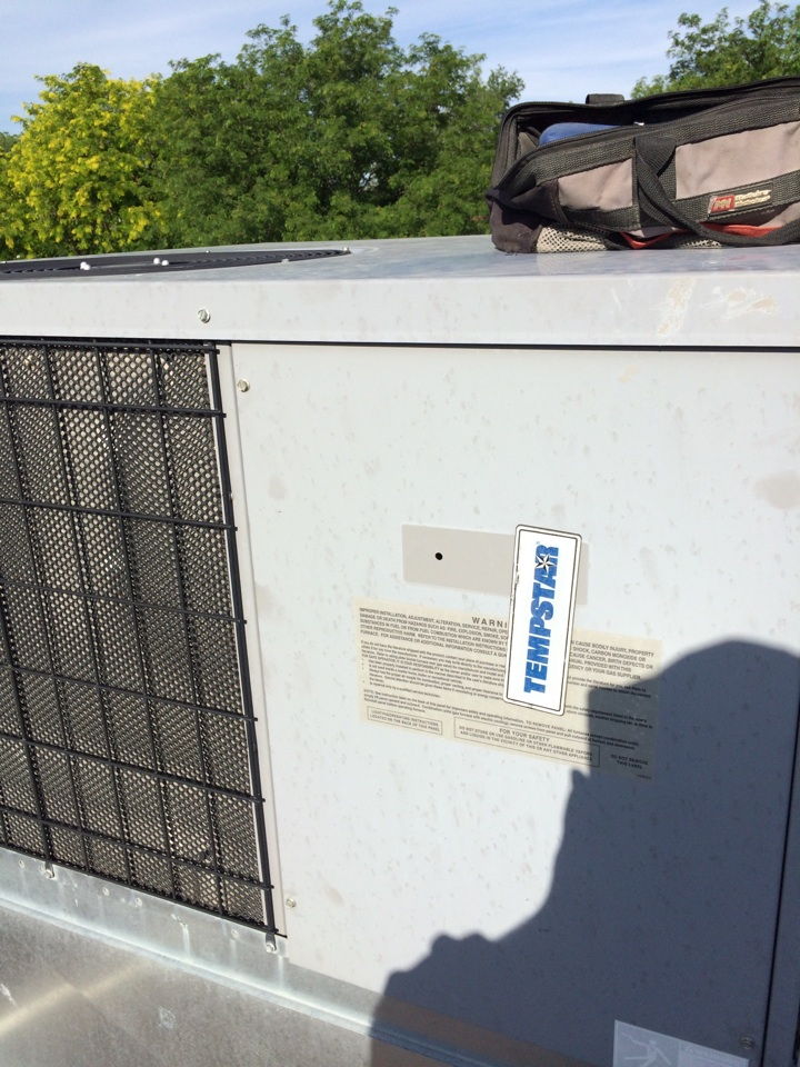 Milford, UT - Tempstar package air conditioner repair Milford ut