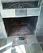Beaver, UT - New gas log set in existing fire place