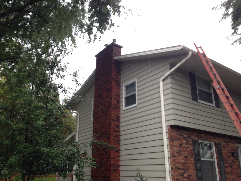 White Bear Lake, MN - Chimney top re-build