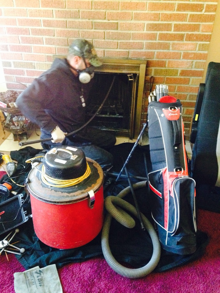 Hudson, WI - Chimney clean and camera inspection