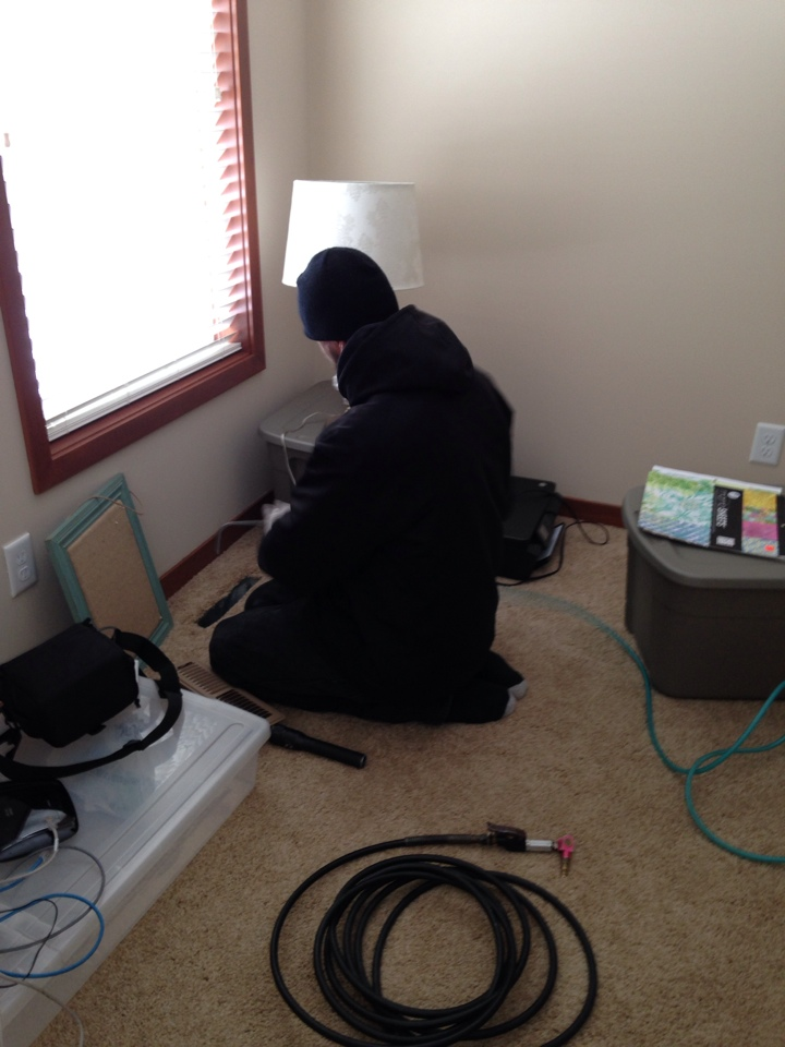 Rogers, MN - Air duct and furnace cleaning (33x vents)