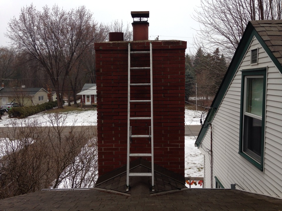 White Bear Lake, MN - Chimney cleaning and camera inspection and dryer vent cleaning