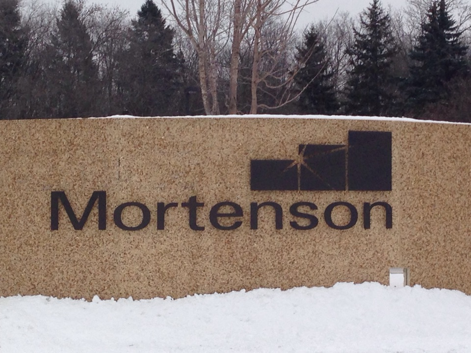 Golden Valley, MN - Gas fireplace maintenance at Mortenson Construction! Monthly account...